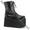 MONSTER-10 Black Faux Leather